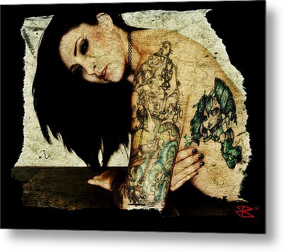 Khrist 2 Metal Print by Mark Baranowski