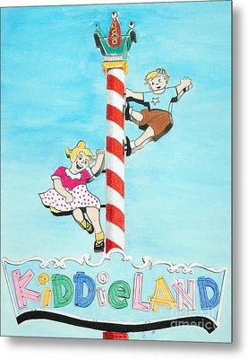 Kiddie Land Metal Print by Glenda Zuckerman