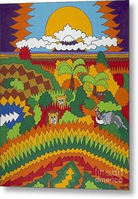Kilimanjaro Metal Print by Rojax Art