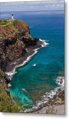 Kilauea Lighthouse Metal Print by Roger Mullenhour