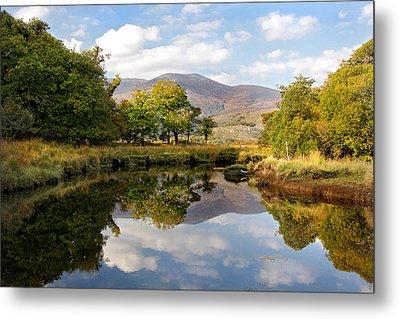 Killarney Lake Reflection Ireland Metal Print by Pierre Leclerc Photography