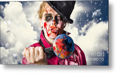 Killing Planet. World Pollution And Destruction Metal Print by Jorgo Photography - Wall Art Gallery