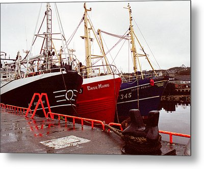 Killybegs Metal Print by Erin Cadigan