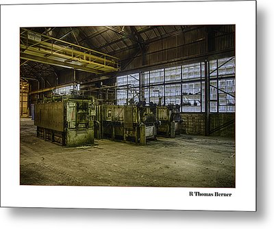 Metal Print featuring the photograph Kilns by R Thomas Berner