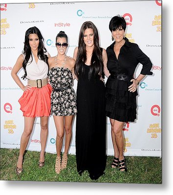 Kim Kardashian, Kourtney Kardashian Metal Print by Everett