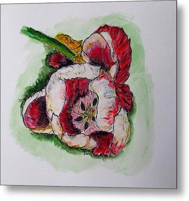 Kimberly's Flowers Metal Print