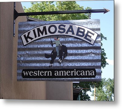 Kimosabe Metal Print by Mary Rogers
