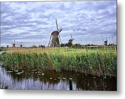 Kinderdijk Metal Print by Lanis Rossi