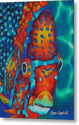 King Angelfish Metal Print by Daniel Jean-Baptiste