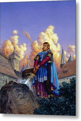 King Arthur Metal Print