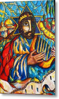 King David Metal Print by Rae Chichilnitsky