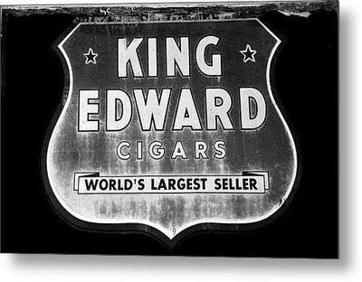 King Edward Cigars Metal Print by David Lee Thompson