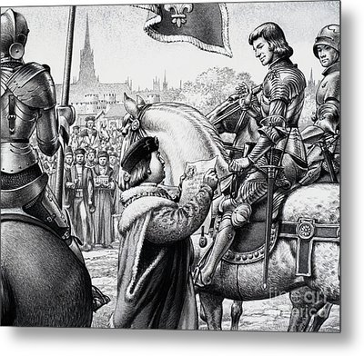 King Henry Vii Metal Print by Pat Nicolle