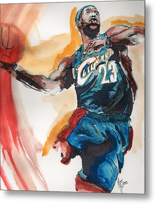 King James Metal Print by Matt Burke