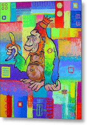 King Konrad The Monkey Metal Print