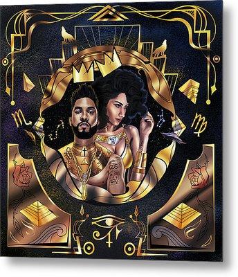 King Miguel And Queen Nazanin Metal Print