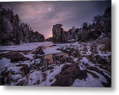 Metal Print featuring the photograph King Of Frost by Aaron J Groen