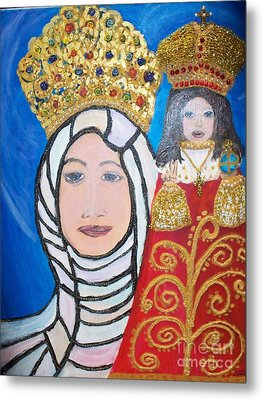 King Of Kings And The Queen Mother Metal Print