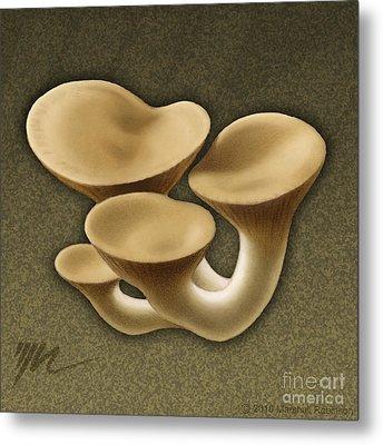 King Oyster Mushrooms Metal Print by Marshall Robinson