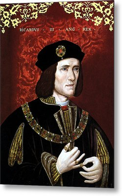 King Richard IIi Of England Metal Print by War Is Hell Store