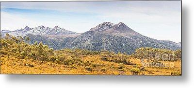 King William Range. Australia Mountain Panorama Metal Print by Jorgo Photography - Wall Art Gallery