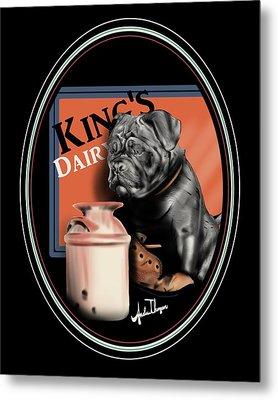 King's Dairy  Metal Print