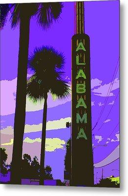 Kirby And Alabama Metal Print by Derick Van Ness