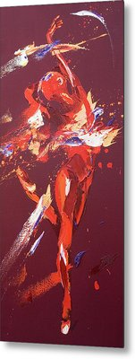 Kiss Metal Print by Penny Warden