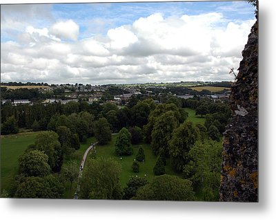 Metal Print featuring the photograph Kiss The Blarney Stone by Dianne Levy