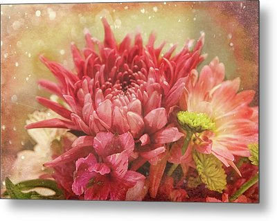 Kissed With Snow Metal Print by Joan Bertucci