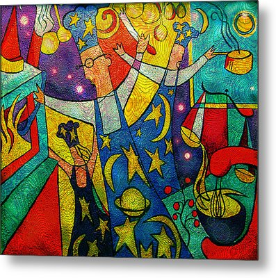 Kitchen Magic Metal Print by Colleen Kammerer