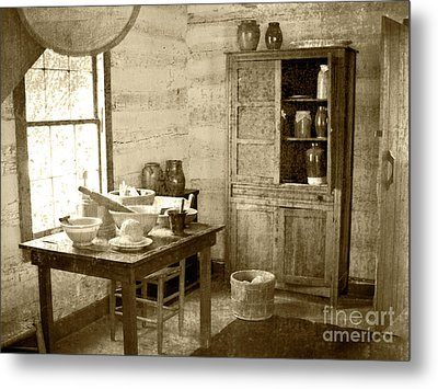 Metal Print featuring the photograph Kitchen by Pete Hellmann