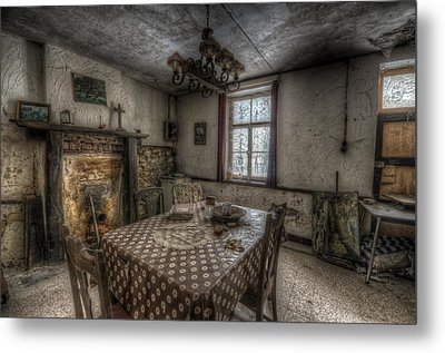 Kitchen Table Metal Print