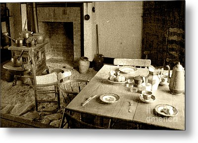 Metal Print featuring the photograph Kitchen Work Area by Pete Hellmann