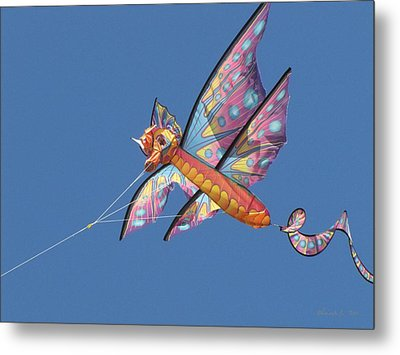 Metal Print featuring the photograph Kite 1 by Maciek Froncisz