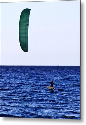 Kite Board Metal Print