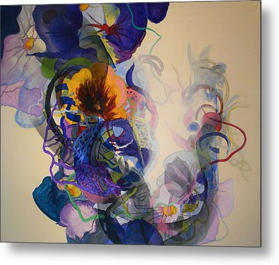 Metal Print featuring the painting Kitsch Dna by Georg Douglas
