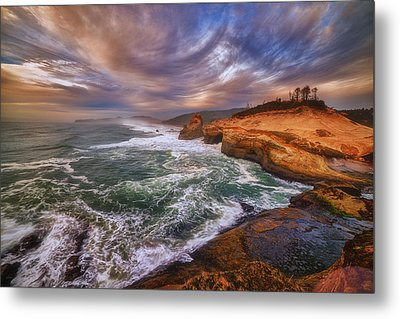 Kiwanda Views Metal Print by Darren  White
