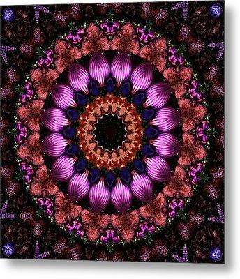 Klassy Kaleidoscope Metal Print by Lyle Hatch