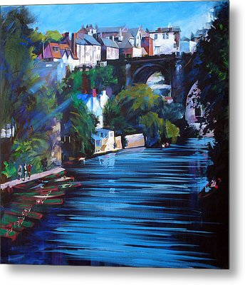 Knaresborough Viaduct Metal Print