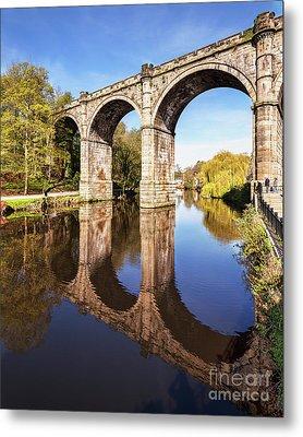 Knaresborough Viaduct, North Yorkshire Metal Print by Colin and Linda McKie
