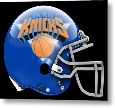 Knicks What If Its Football Metal Print by Joe Hamilton