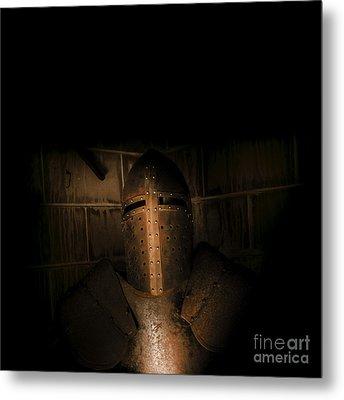 Knight Of Darkness Metal Print
