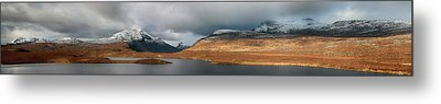 Metal Print featuring the photograph Knockan Crag Mountain View by Grant Glendinning