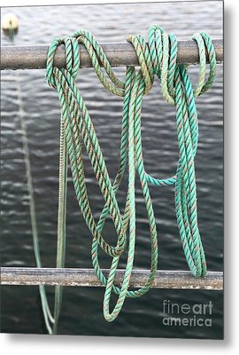 Metal Print featuring the photograph Knot Of My Warf II by Stephen Mitchell