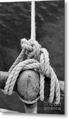 Metal Print featuring the photograph Knot On My Warf Iv by Stephen Mitchell