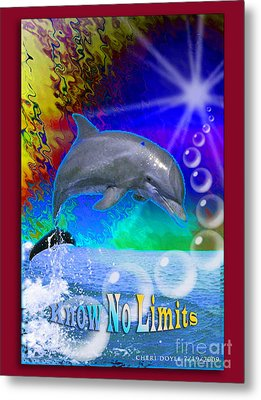 Know No Limits Metal Print