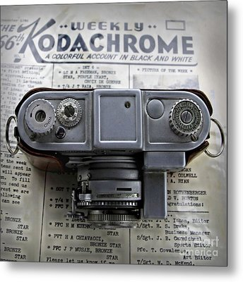 Kodachrome Weekly Metal Print by DJ Florek