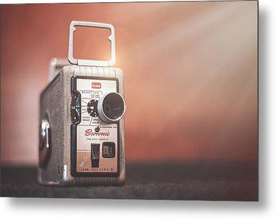 Kodak Brownie 8mm Metal Print