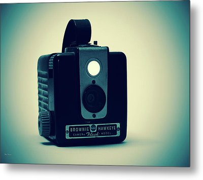 Kodak Brownie Metal Print by Bob Orsillo